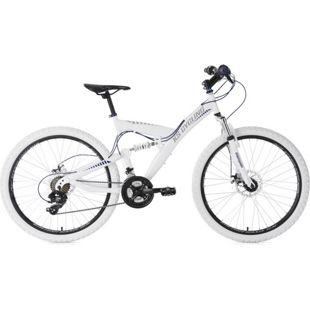 KS Cycling Fully Mountainbike 26 Zoll Topspin 21 Gänge
