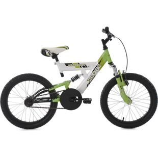 KS Cycling Kinderfahrrad 18'' Zodiac grün-weiß RH 33 cm