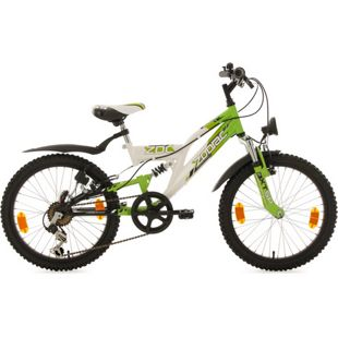 KS Cycling Kinderfahrrad MTB Fully 20'' Zodiac RH 31 cm
