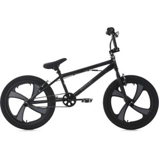 KS Cycling BMX Freestyle 20'' Rise Mag Wheel schwarz-grau
