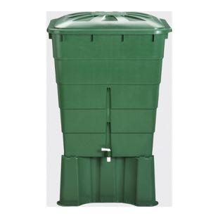 Garantia Regentonne eckig 300 L, grün