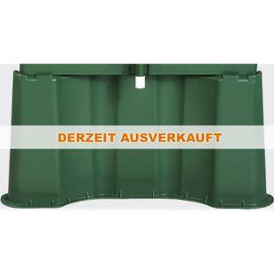 Garantia Regentonnen-Unterstand f.300L eckig grün