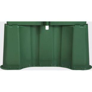 Garantia Regentonnen-Unterstand f.520L eckig grün