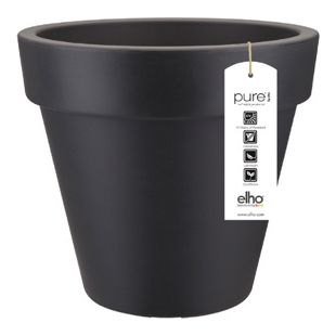 Elho Pure Round Pflanztopf  Ø60xH54 cm, Anthrazit
