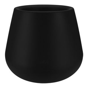 Elho Pure Cone Ø45xH36 cm, schwarz