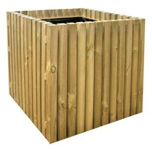 FOREST-STYLE Holz-Pflanzkasten Pika 50x50x50 cm