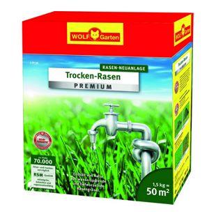 Wolf Garten Premium-Trocken-Rasen L-TP 50
