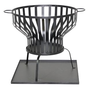Gardissimo Feuerkorb Ø60,5xH74 cm anthrazit