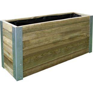 FOREST-STYLE Holz-Pflanzkasten/Hochbeet Bambou