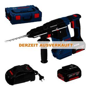 Bosch Bosch Akku-Bohrhammer 0611910002 GBH18 V-26 F 2x6,0 Ah - L-Boxx