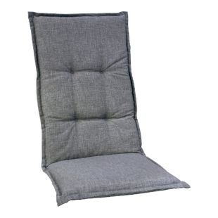 Gardissimo Auflage Teneriffa für Sessel niedrig, grau