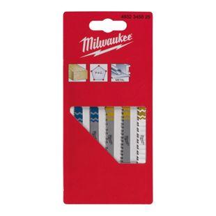 Milwaukee Stichsägeblatt 4932345825 (5) SET Holz - Metall