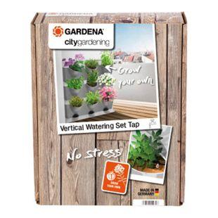 Gardena 13156-20 NatureUp! Bewässerungsset Vertikal Wasserhahn