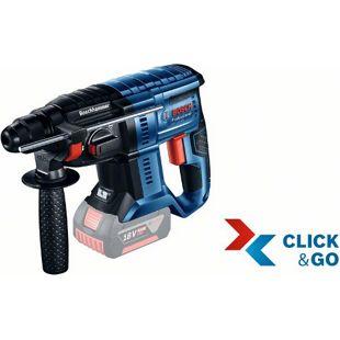 """Bosch Akku-Bohrhammer 0611911001 GBH 18 V-20 """"Clic-Solo"""" L-Boxx"""