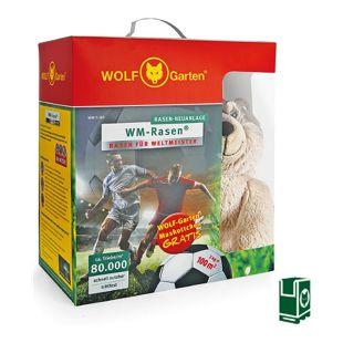 Wolf Garten WM-Strapazierrasen WM-S 100 für 100 m²