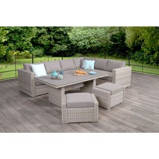 Garden Impressions Loungegruppe Breda 5tlg. Set Passion Willow