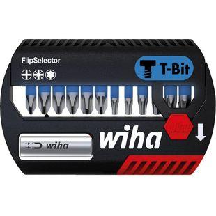 Wiha Bit Set FlipSelector SB 7947 T 906 T-Bit 25 mm PH-PZ-TX 13-teilig