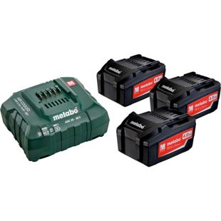 Metabo Basic-Set 685049000 3 x 4,0 Ah-Li-Power + Ladegerät ASC30-36