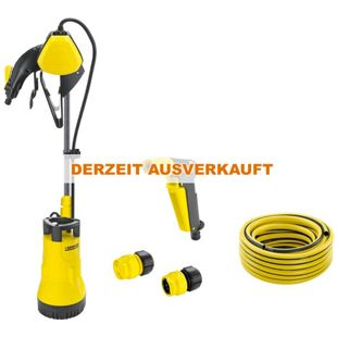 Kärcher Tauch- / Druckpumpe Bewässerungspumpe BP 1 Barrel Set