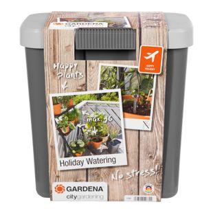 GARDENA Bewässerungsautomat city gardening Urlaubsbewässerung-Set (1266-20)