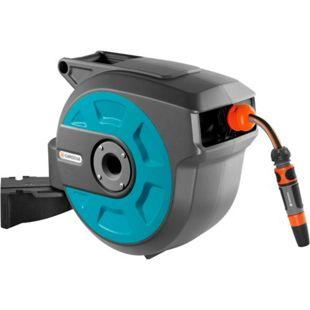 GARDENA Schlauch- Trommel Wand-Schlauchbox 15 roll-up automatic (8022-20)