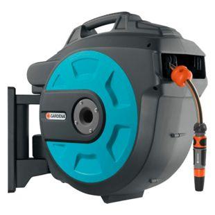 GARDENA Schlauch- Trommel Wand-Schlauchbox 25 roll-up automatic (8023-20)