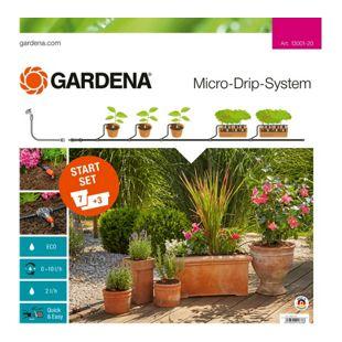 GARDENA Tropfsystem Start-Set Pflanztöpfe M