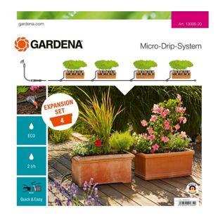 GARDENA Erweiterungsmodul Micro-Drip-System Erweiterungsset Pflanztröge