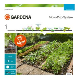 GARDENA Tropfsystem Micro-Drip-System Start-Set Pflanzflächen
