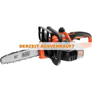 BLACK+DECKER Elektro-Kettensäge Akku-Kettensäge GKC1825LB, 18Volt