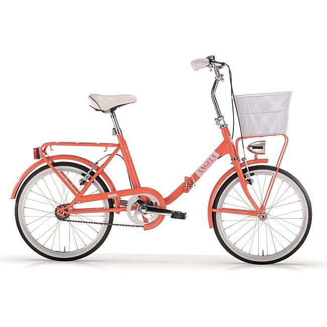 MBM Klapprad 20 Zoll New ANGELA Orange online kaufen   GartenXXL.de