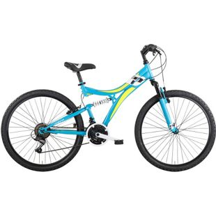 "MBM Mountainbike INDY  24"" 18-Gang  Blau"