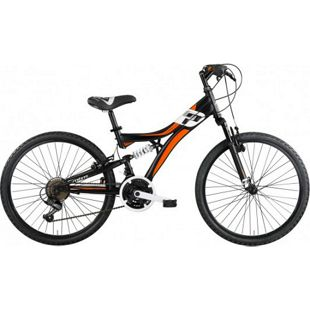 "MBM Mountainbike INDY  24"" 18-Gang  Schwarz"