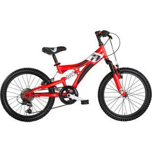 "MBM Mountainbike INDY  26"" 18-Gang  Rot"