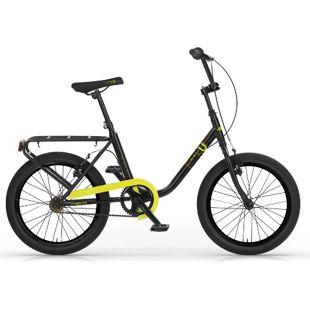 MBM Citybike  20 Zoll Schwarz-Gelb