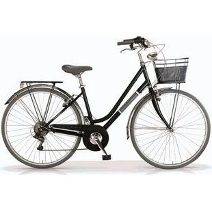 "MBM Trekkingbike 28 Zoll "" Silvery"" Woman Schwarz"