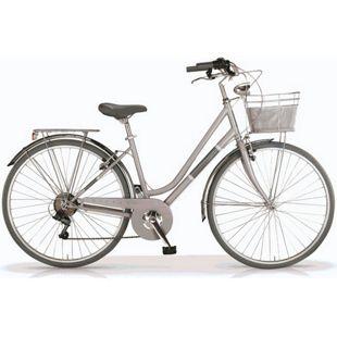 "MBM Trekkingbike 28 Zoll "" Silvery"" Woman Grau"