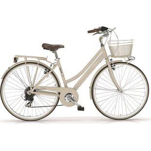 "MBM Trekkingbike New Boulevard Woman 28"" 6-Gang Creme"