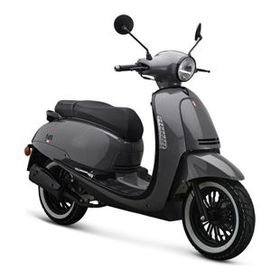 IVA Motorroller SUBLIME Euro-4-Norm  25km/h grau