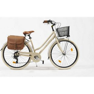 Via Veneto Cityfahrrad 28 Zoll 605 Aluminium Lady beige