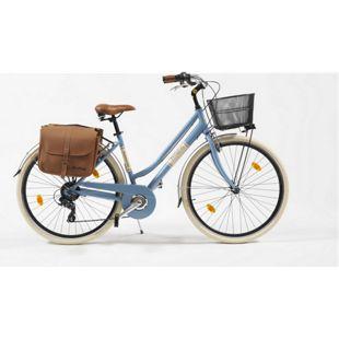 Via Veneto Cityfahrrad 28 Zoll 605 Aluminium Lady blau