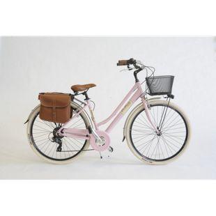Via Veneto Cityfahrrad 28 Zoll 605 Aluminium Lady rosa