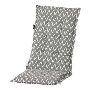 Grasekamp Auflage Grau zu Hochlehner im coolen  Zick Zack Muster Klappsessel
