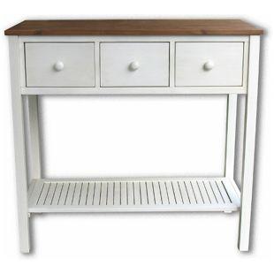 Grasekamp Premium Pflanztisch Gartentisch  Sideboard Akazie Weiß