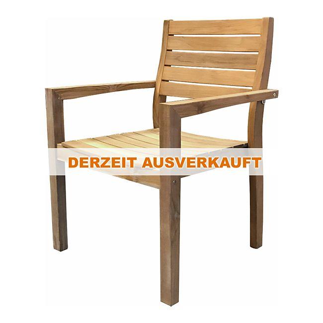 grasekamp teak stapelsessel sessel stuhl teakholz gartenm bel online kaufen. Black Bedroom Furniture Sets. Home Design Ideas