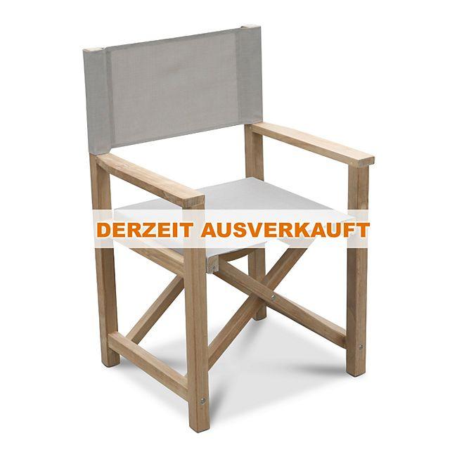Grasekamp Teak Sessel Stuhl Gartenstühle Klappstuhl Teak Holz ...