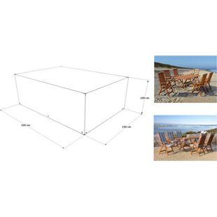 Grasekamp Abdeckhaube Schutzhülle zu Sitzgruppe  Gartenmöbel 190x150x100 cm