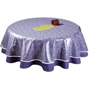 Grasekamp Tischdeckenschoner PVC Folie 130x180cm  Oval