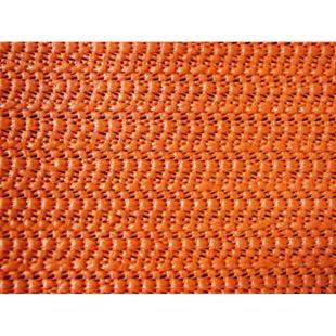 Grasekamp Tischdecke aus Schaumstoff 100x130cm  eckig terracotta