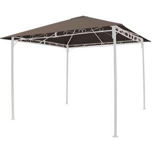 Grasekamp Universal Ersatzdach 293x293cm Polyester  Taupe mit UV Schutz, wasserabweisend